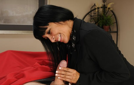 Married Mature Step Mom Tugging Cock